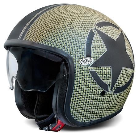 Premier Helmets Vintage en version Carbon Kevlar BM