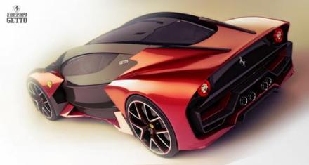Ferrari Getto concept: pour 2025