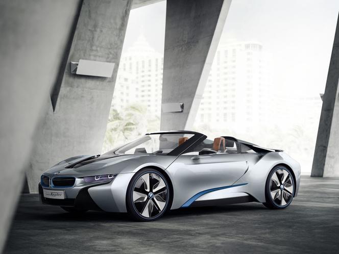 BMW : l'i8 Spyder en approche ?