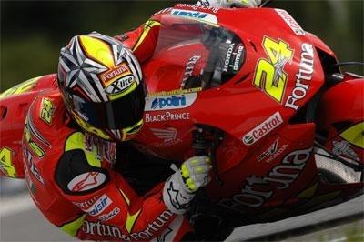 Moto GP: Elias rempile, Gresini au complet