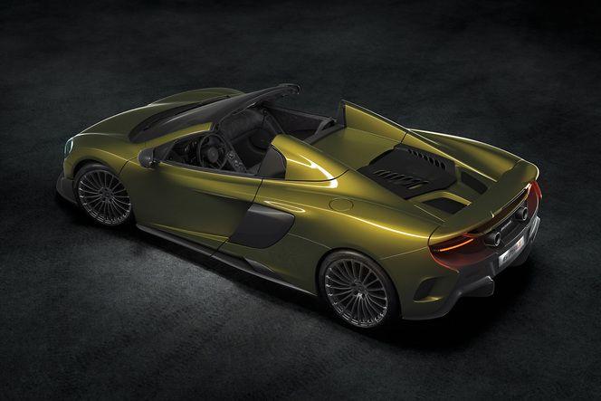 McLaren dévoile la 675 LT Spider