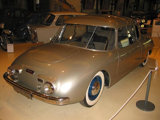 Prototype de la Wimille 02 exposé au musée Malartre de Lyon. Ce modèle sera visible cette année à Rétromobile.