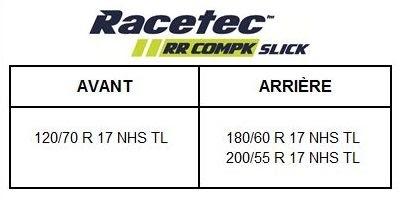 Metzeler Racetec RR Compk Slick: la piste façon amateur