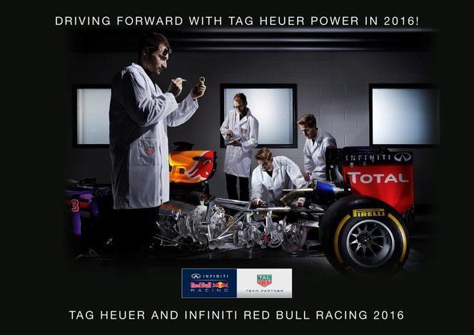 Formule 1: Tag Heuer dans la course avec Red Bull