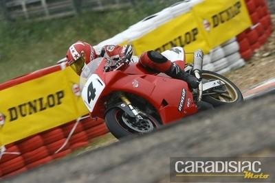 Championnat de France Vitesse Motos Anciennes, Endurance Classic, Classic 17, trophée Malossi les 28 et 29 aout sur le circuit Carole.