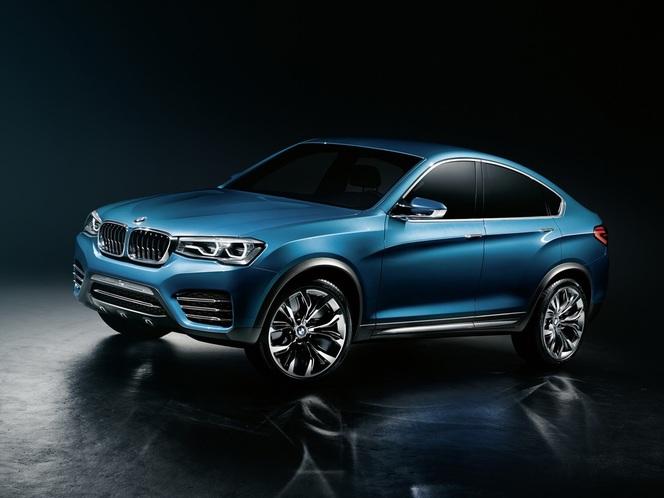 BMW X4 Concept en fuite : une courte Gran Turismo haute