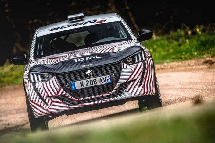 Peugeot : la nouvelle 208 R2 déjà à l'épreuve