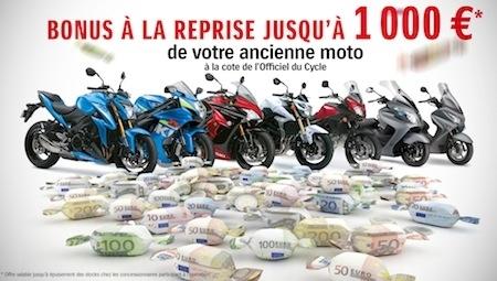 Suzuki: les aides à la reprise perdurent jusqu'à fin mars!