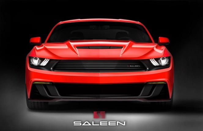 Première photo pour la future Saleen Mustang S302