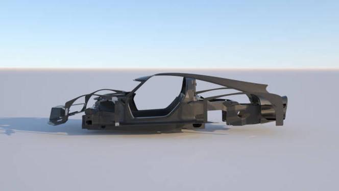 James Glickenhaus dévoile le châssis de sa future supercar