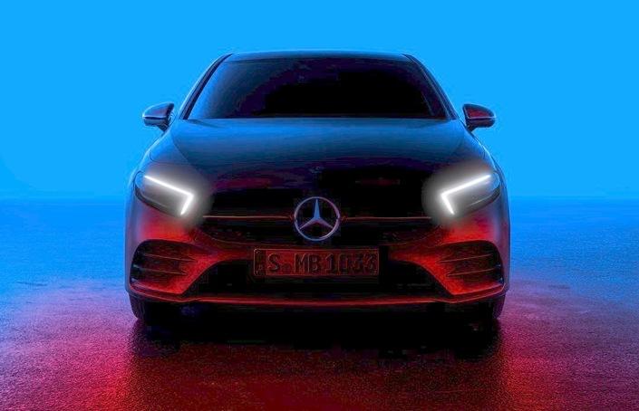 Teaser - La nouvelle Mercedes Classe A se montre, présentation le 2février