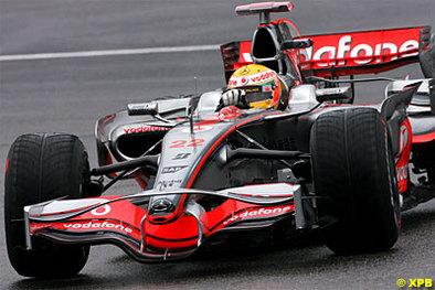 Formule 1 - Allemagne D.1: Hamilton, par une météo presque anglaise