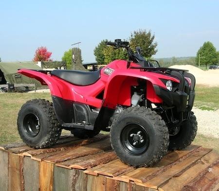 Essai Yamaha Grizzly 300