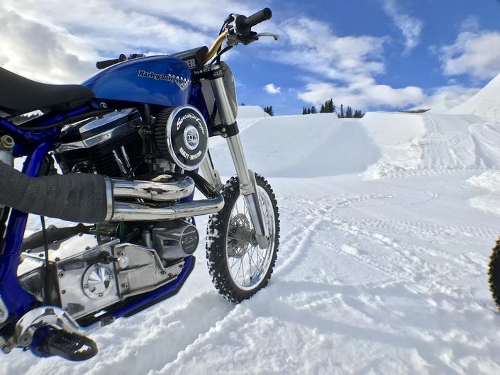 Harley-Davidson aux X Games d'Aspen 2018