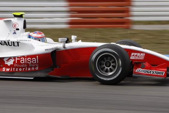 GP2 Hockenheim Qualifications : Pantano survole