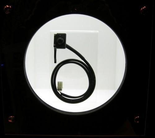 Salon de Milan 2009 en direct, Leo Vince est dans la place côté accès.
