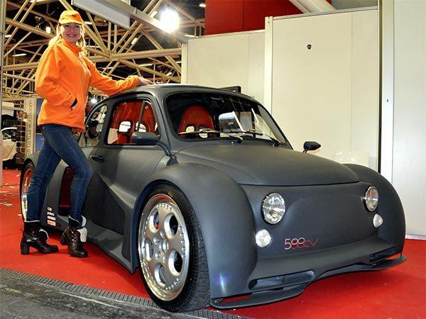 Fiat 500 Oemmedi : dopée au V12 Lamborghini ! (mais pas que)
