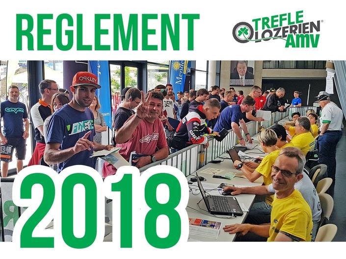 Trèfle Lozérien AMV: le règlement 2018 est disponible