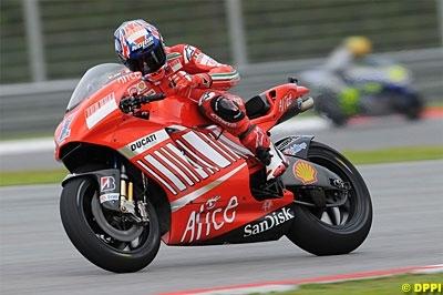 Moto GP - Valence: Neuvième pole de Stoner