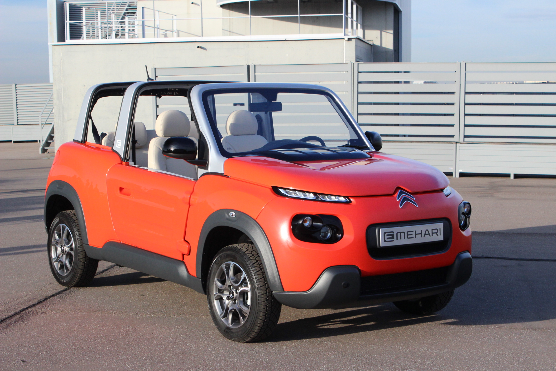 Présentation vidéo - Citroën E-Mehari : vamos a la playa !