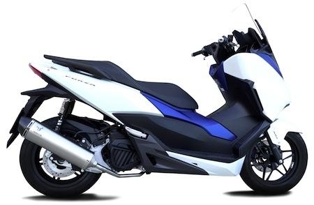 Ixrace : ligne d'échappement pour Honda Forza 125