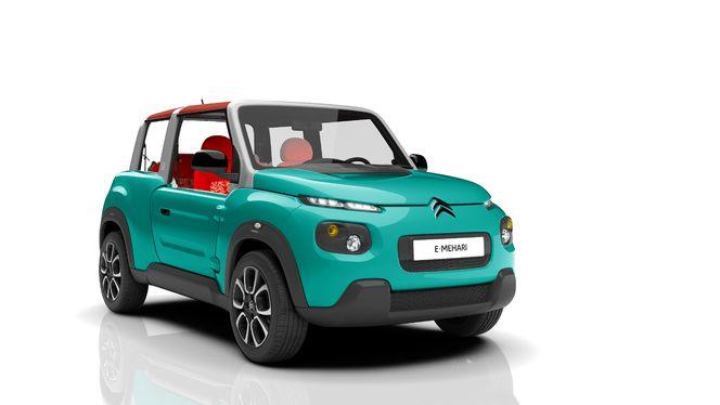 Citroën E-Mehari : les premières informations