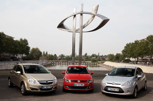 Comparatif : VW Polo - Ford Fiesta - Opel Corsa : le bal des outsiders