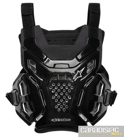 Protection 2011 selon Alpinestars: l'A-6 Under Jersey Protector.