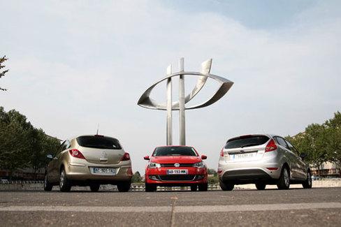 Comparatif : VW Polo - Ford Fiesta - Opel Corsa : le bal des outsiders