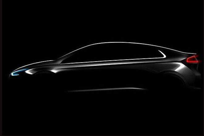 La Hyundai Ioniq fait parler d'elle en teaser