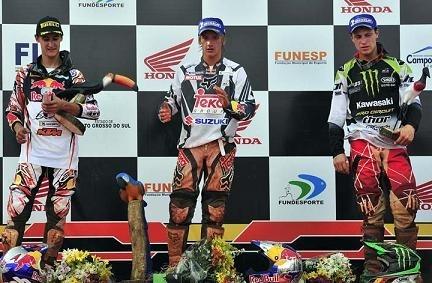 GP du Brésil : Roczen réalise le doublé pour 6 points de repris à Musquin