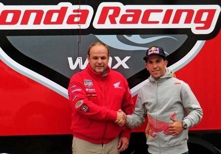 Gregory Aranda chez Yamaha et Jonathan Barragan chez Honda