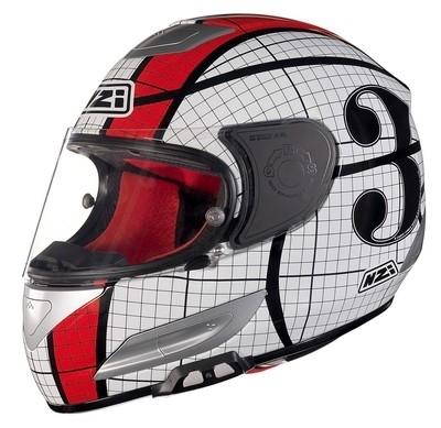 Nouvelles décos pour le casque racing NZI Spyder III: attention, ça va pulser...