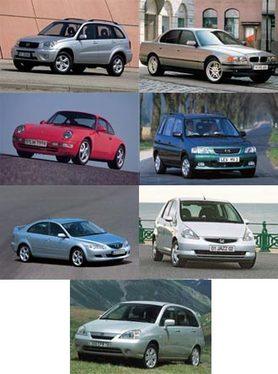 Les 140 modèles les plus fiables en 2006