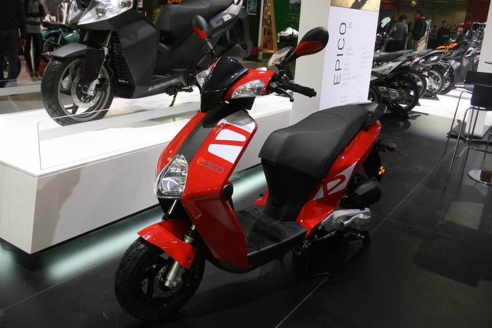 Salon de Milan 2009 en direct : Généric Epico 50 cm3