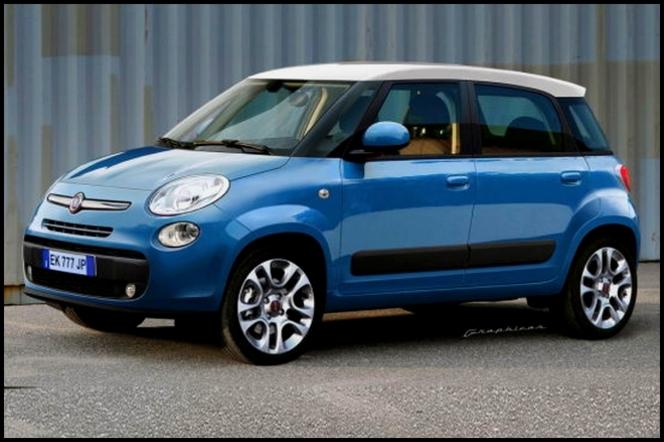 La petite familiale de Fiat s'appellera 500L