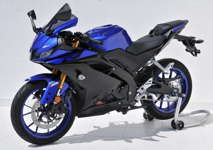 Yamaha YZF R-125 2019 : bulle Ermax Aeromax
