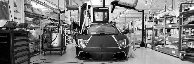 Venez, entrez et visitez l'usine Lamborghini