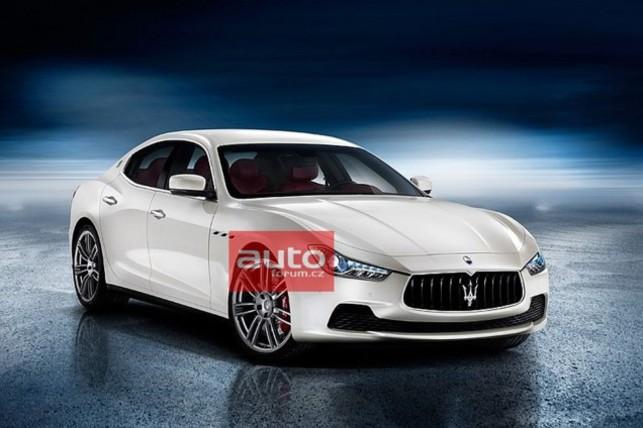 Maserati Ghibli : la voici enfin ?