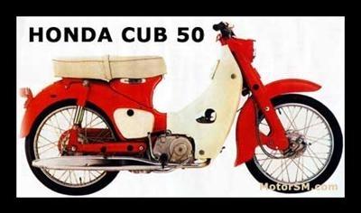 'Honda Cub' by Sam Jilbert