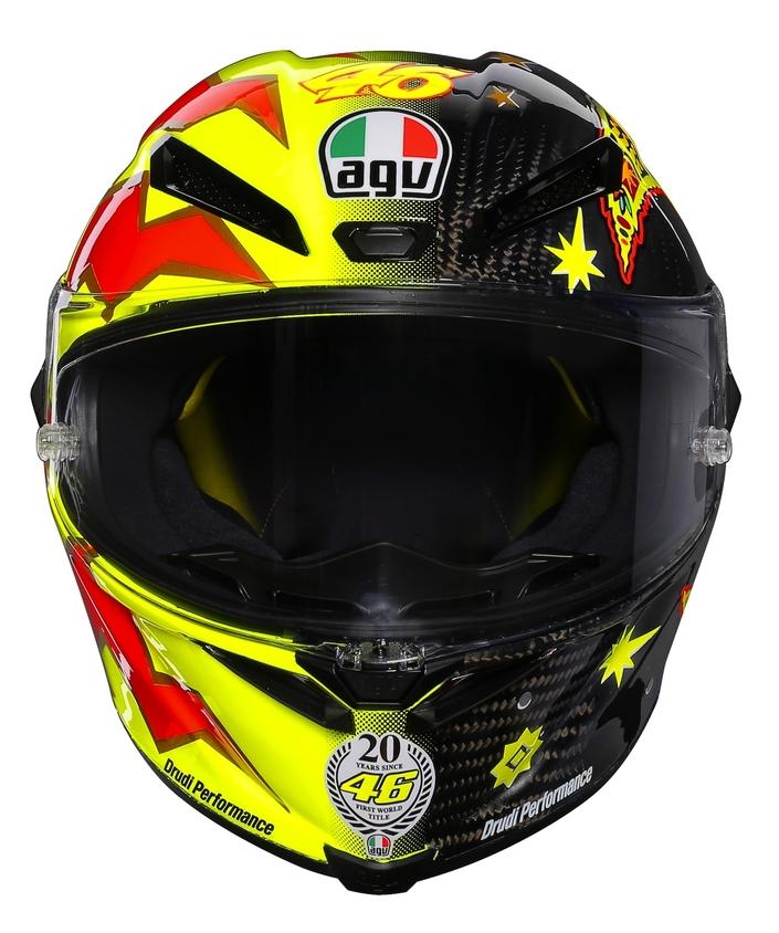 Valentino Rossi: 3 000 exemplaires de l'AGV Pista GP R 20 Limited Edition