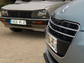 Peugeot 505 GTD (1986) VS Peugeot 508 HDi (2011)  La grand-mère en a encore sous le capot