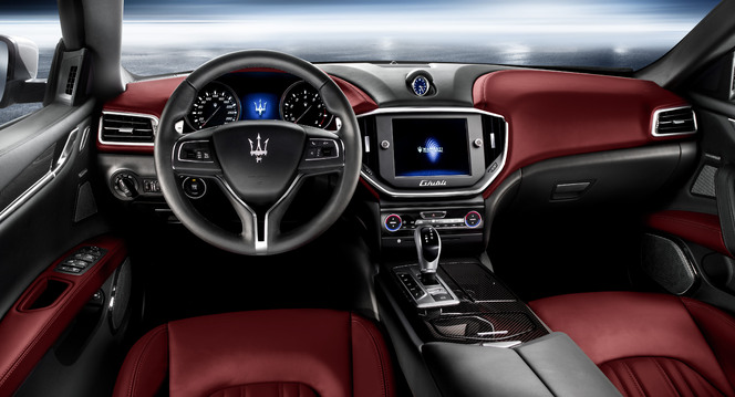 Salon de Shanghai 2013 - Voici la nouvelle Maserati Ghibli!