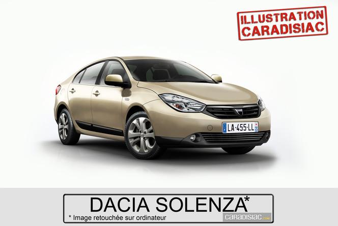 Une berline familiale pour Dacia en 2015 !