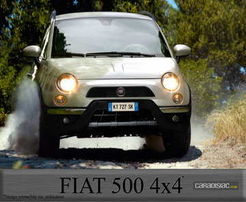 La Fiat 500 existera en tout-chemin