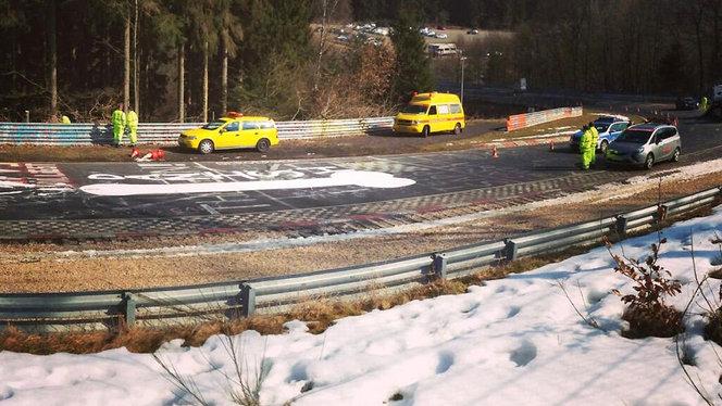 Le Nürburgring fermé plusieurs heures à cause d'un pénis géant