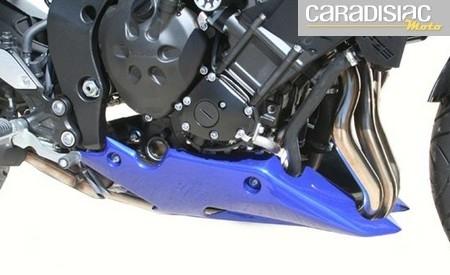 S2 Concept s'occupe de la Yamaha FZ8.