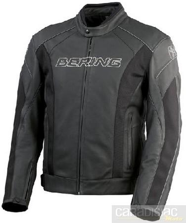Bering Trust: du cuir entre sport et touring.