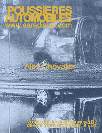 (Minuit chicanes) Poussières automobiles, dessins de Alex Chevalier
