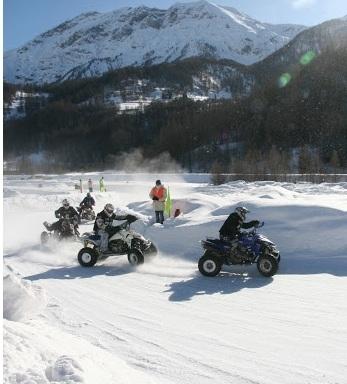 24 h de quads sur glace : Les 14, 15 et 16 décembre à Val Thorens